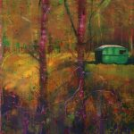 in the forest 152 x 183cm