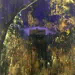 One light 183 x 152 cm acrylic on canvas