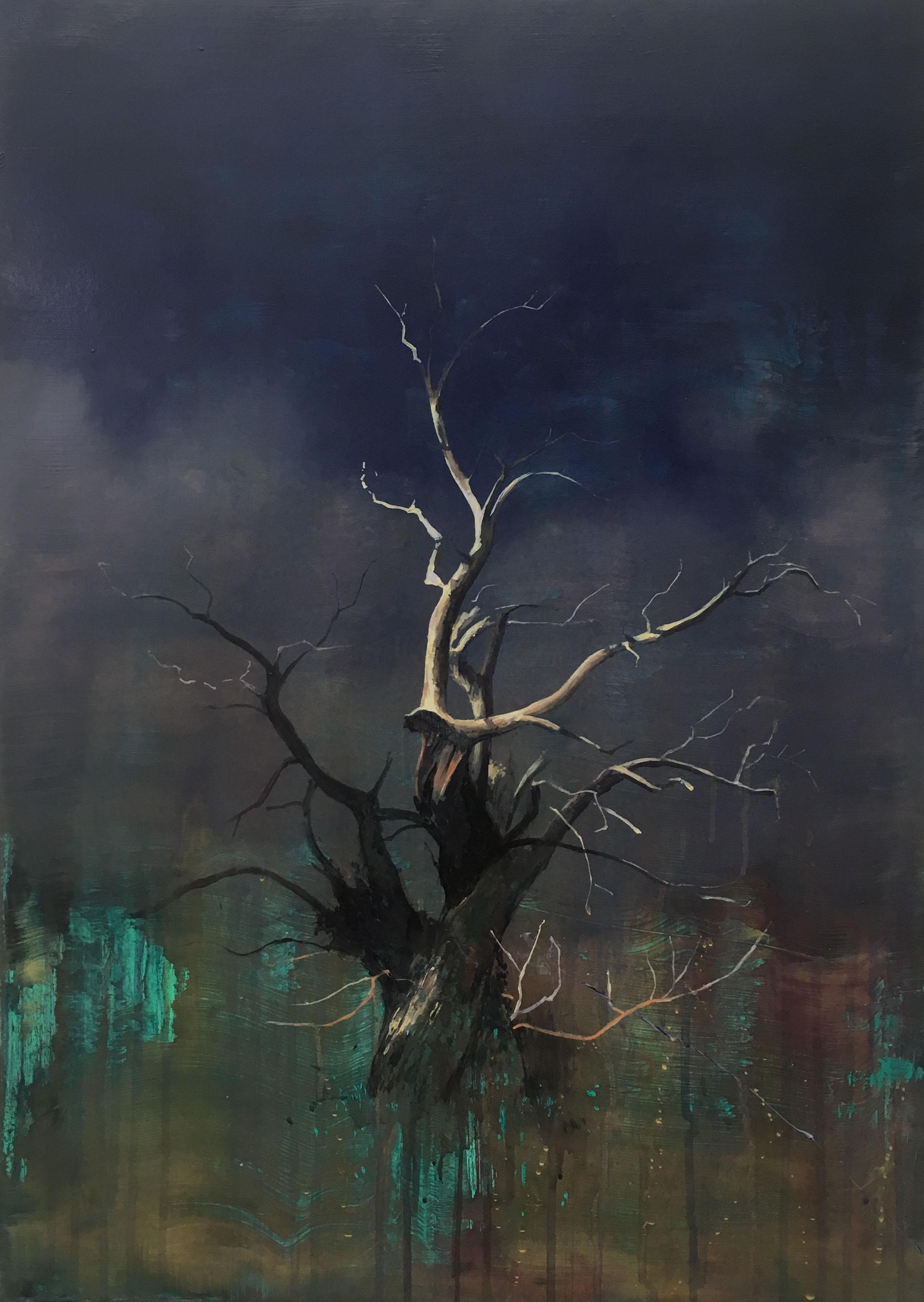 Tree 1 70 x 50 cm acrylic on canvas
