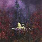 Creeper 183 x 152 cm acrylic on canvas