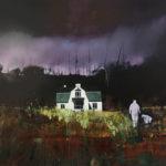 Public House acrylic on canvas 124 x 157cm