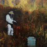 The Beekeeper 183 x 152 cm acrylic on linen