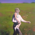 Carry me 168 x 132 cm oil on canvas
