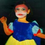 Costume 168 x 132 cm oil on canvas
