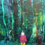 Edge of the forest 200 x 152 cm oil on canvas