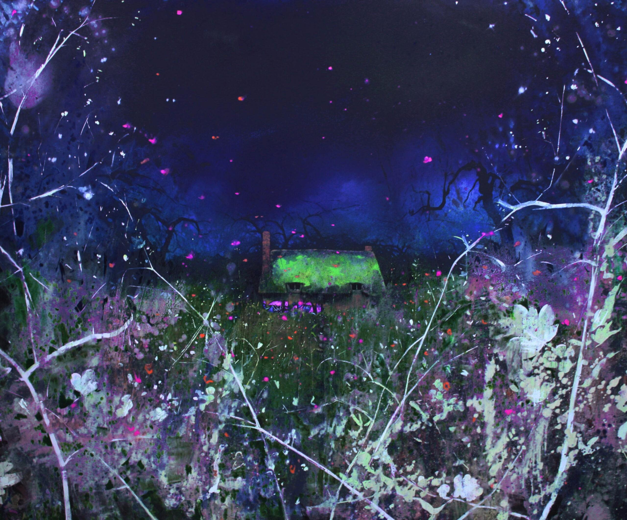 Lume 152 x 183 cm oil on canvas