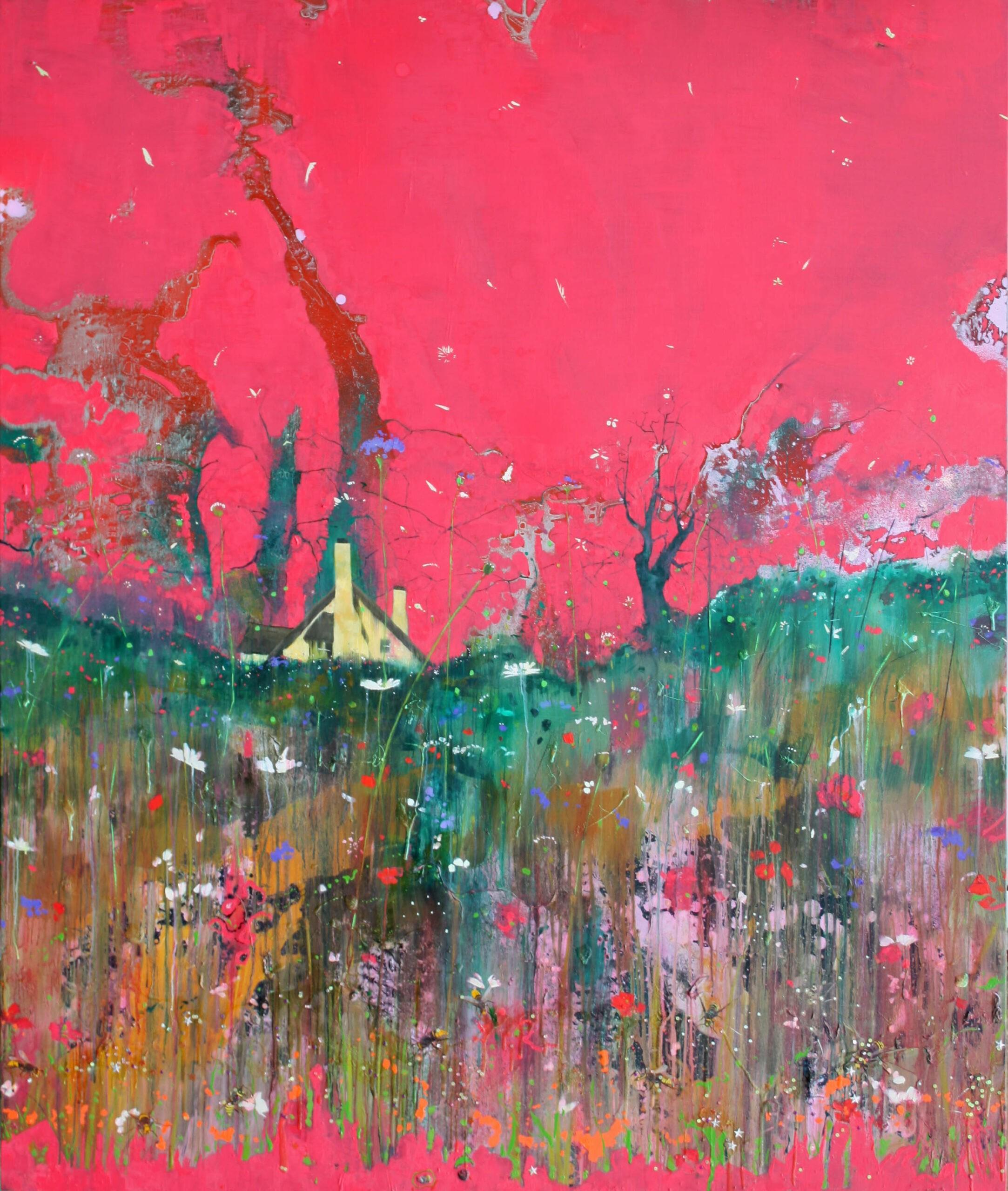 Meadow 183 x 152 cm oil on canvas