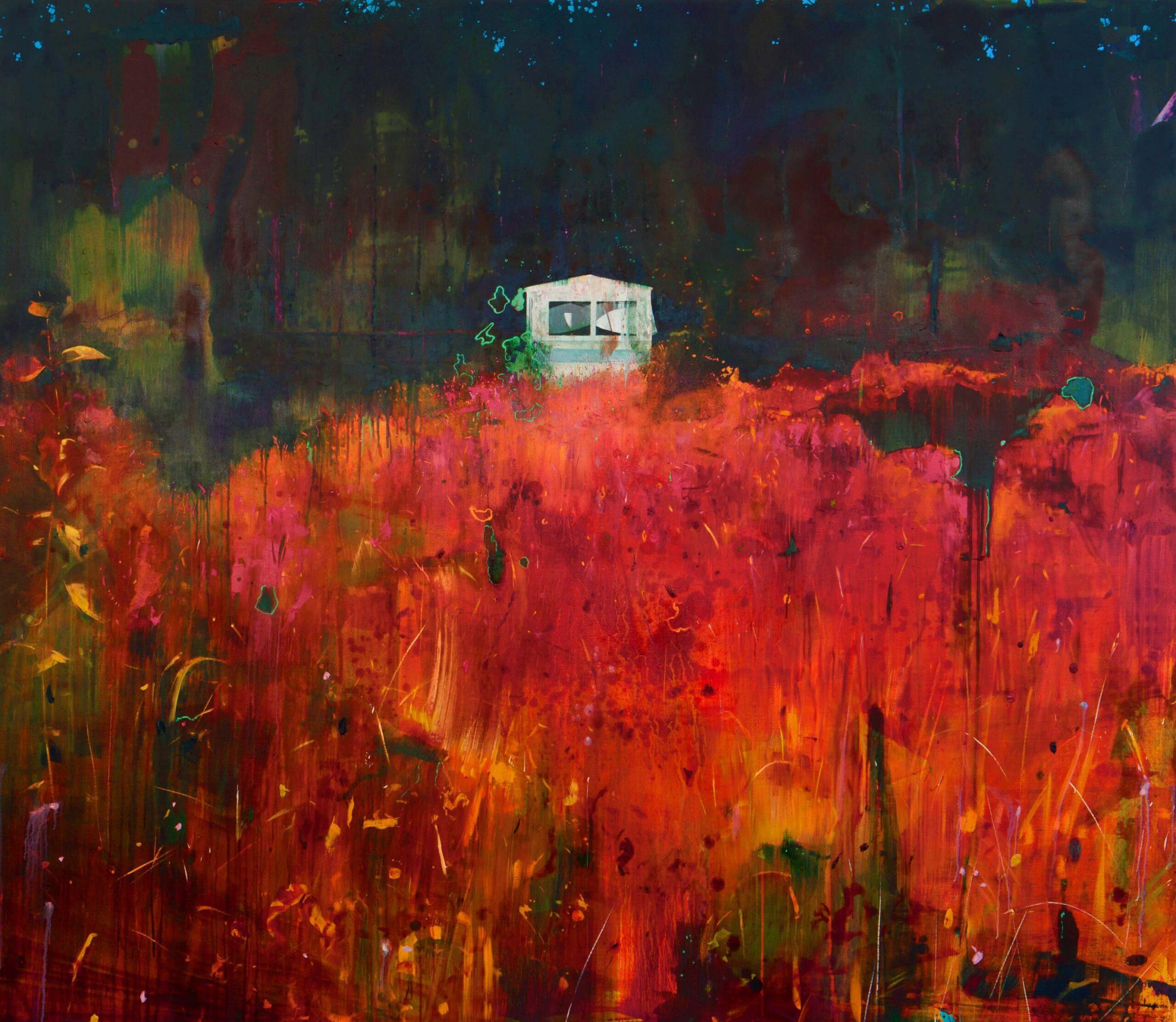 Microscopics 200 x 230 cms oil on canvas