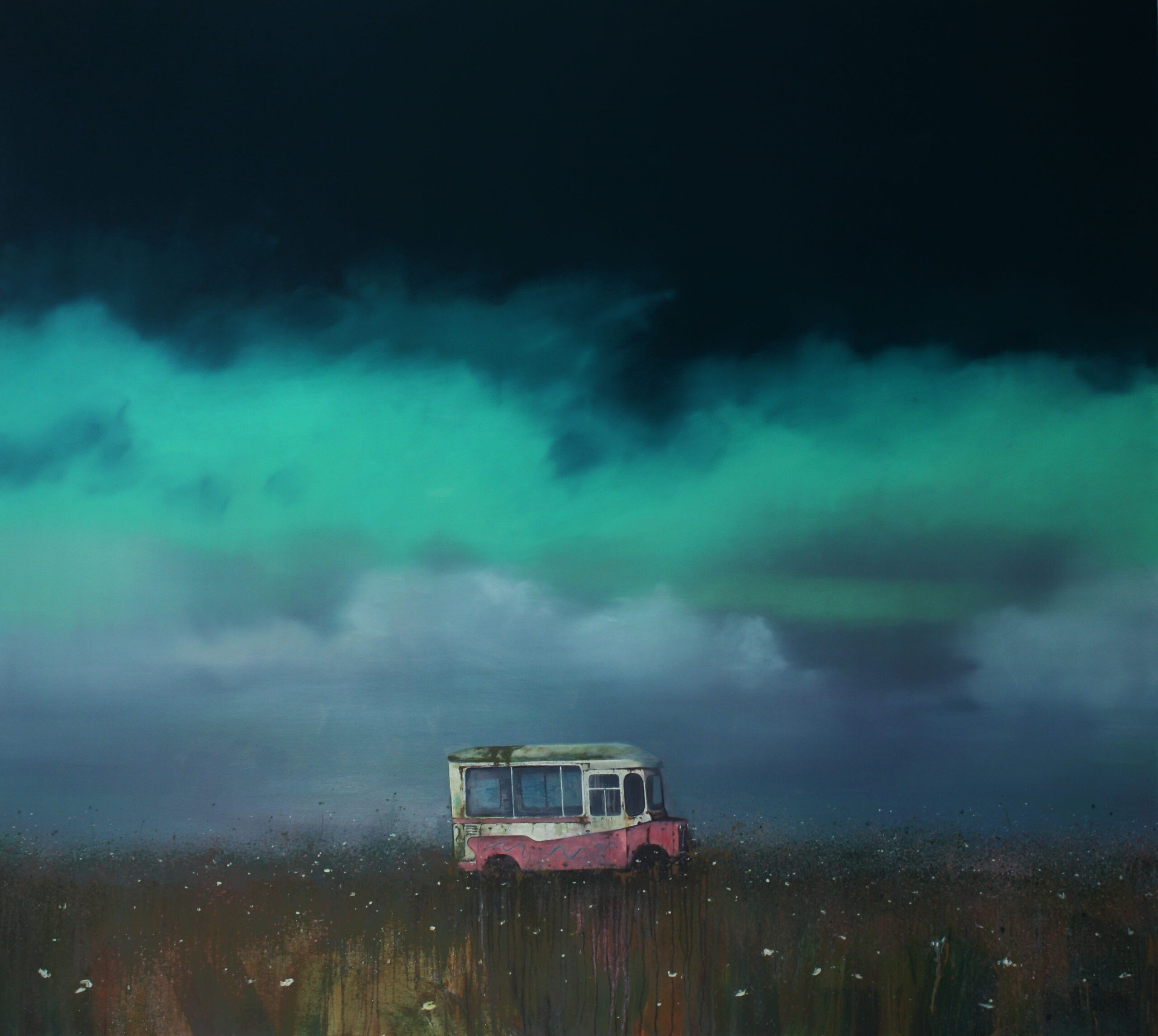 Redundant 135 x 150 cm oil on canvas