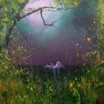 The Dreamer 200 x 230 cms oil on canvas