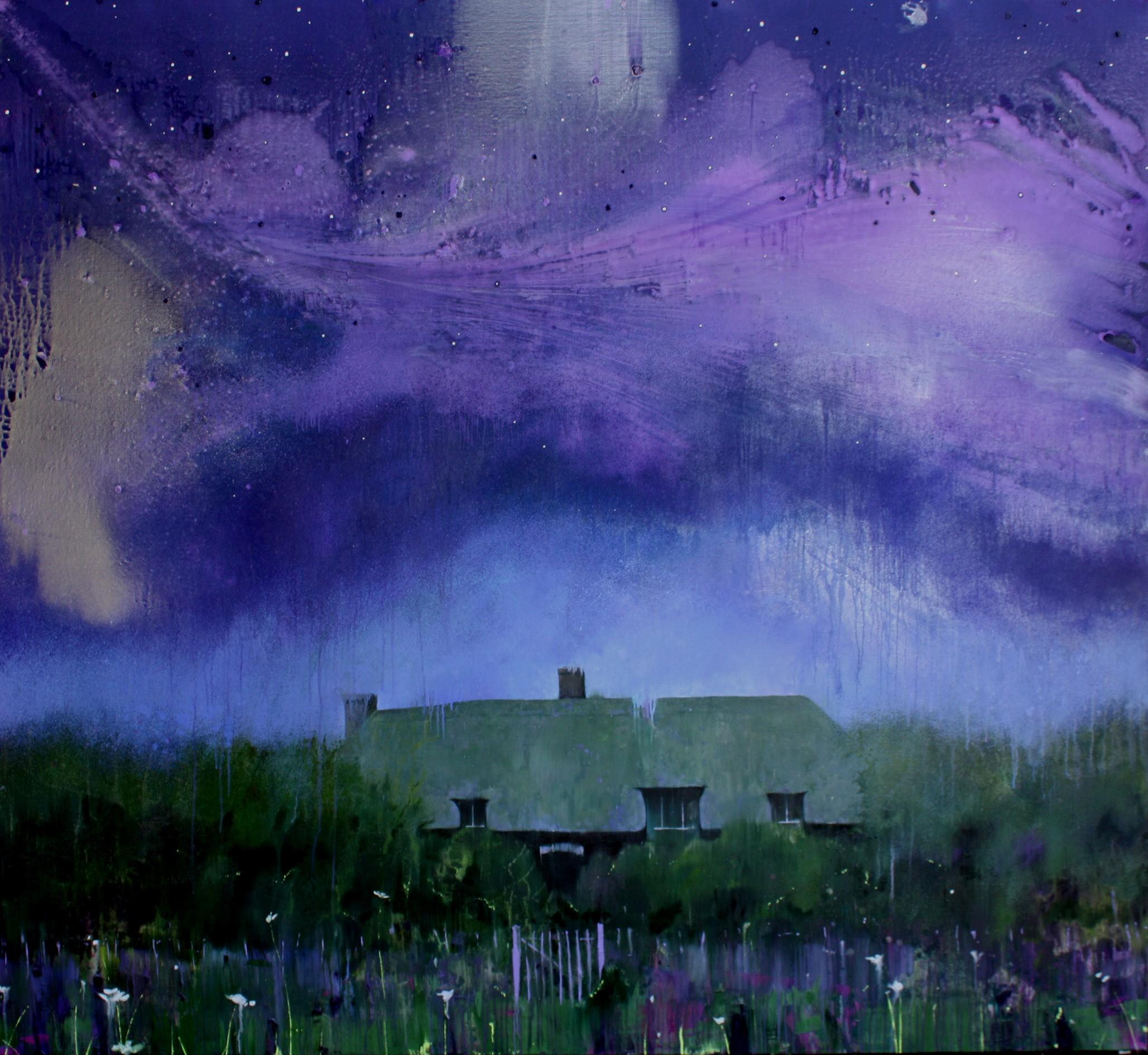 Blue Moon 183 x 200 cm oil on canvas