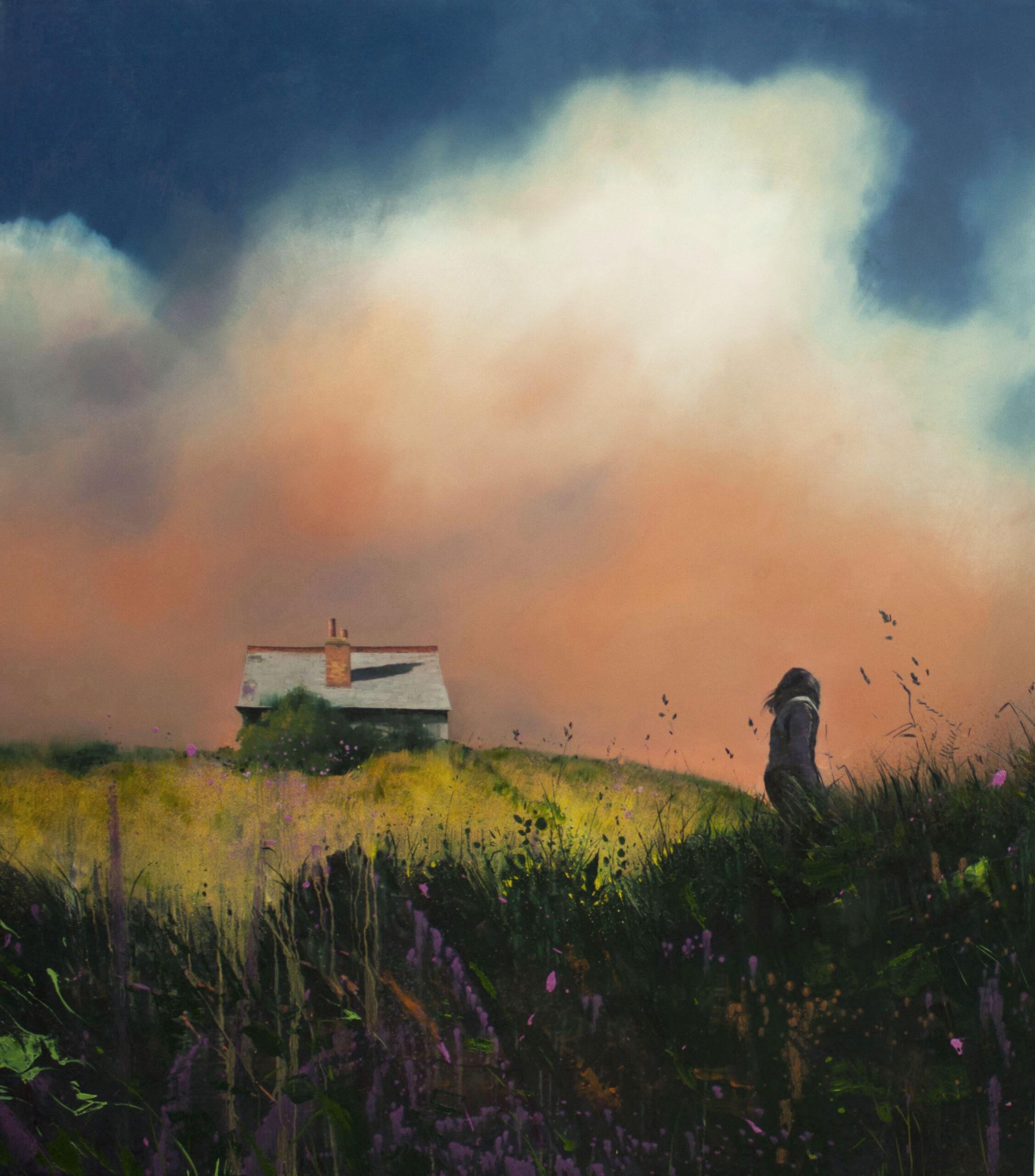 Homeward 135 x 120cm oil on canvas