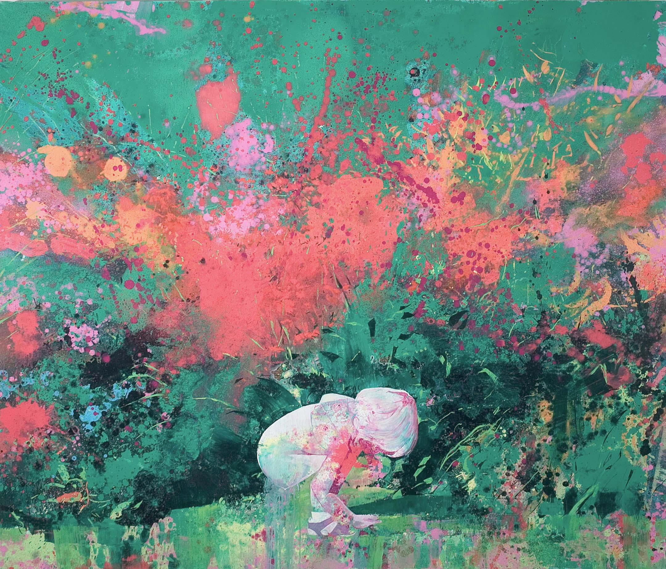 Treasure 200 x 230 cm oil on canvas